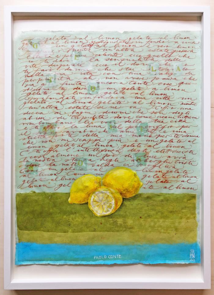 Gelato al limon
